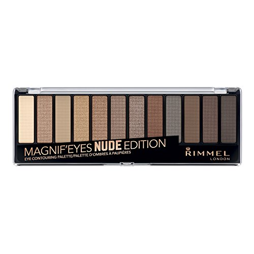 Rimmel Magnif'eyes Eye Palette, Keep Calm and Wear Nude, 0.5