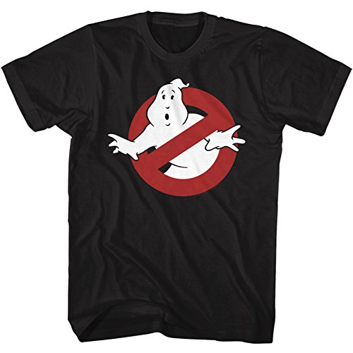 American Classics The Real Ghostbusters Animated TV Series Logo Symbol Adult T-Shirt Tee