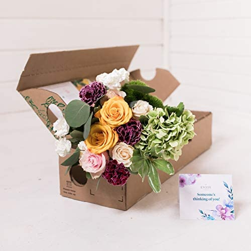 10% OFF Mother's Day Gift - Fresh Flowers - 3 Monthly Deliveries of Seasonal Mixed Bouquets. Delivery Included - Limited Time Offer! (3 Bouquets of Charming Fresh Cut Flowers)