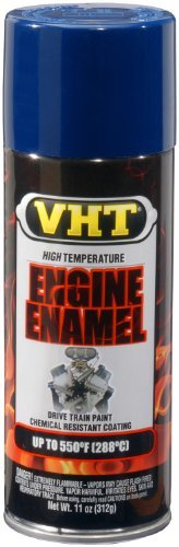 - VHT SP138 Engine Enamel New Ford Blue Can - 11 oz. Color: New Ford Blue, Model: SP138, Outdoor&Repair Store