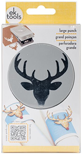 EK Tools Paper Punch, Large, Deer - Paper Camo Scrapbook