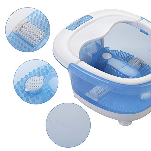 All in One Foot Spa Bath Massager with...
