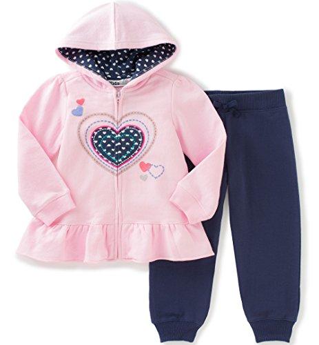 Kids Headquarters Baby Girls Fleece Jog Set