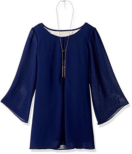 Amy Byer Girls Sleeve Laceback product image