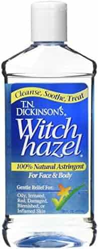 T.N. Dickinson's Astringent, 100% Natural, Witch Hazel 16 fl oz (473 ml) (2 Pack)