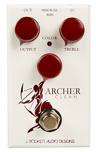 (J. Rockett Audio Designs Tour Series Archer Clean Boost Guitar Effects Pedal)
