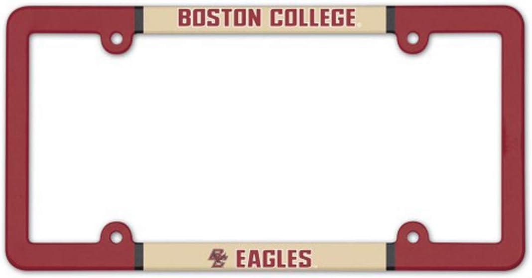WinCraft Boston College Eagles Plastic License Plate Frame