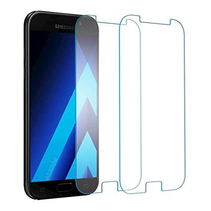 fa15ea971b89fb  2 Pack  Galaxy A5 2017 Screen Protector, AILRINNI Ultra-Clear Tempered  Glass