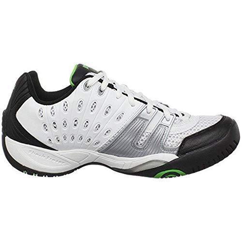 - Prince Men's 8P984149-T22 Tennis Shoe,White/Black/Green,10 M US