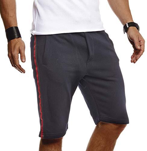 Leif Nelson Herren Kurze Hose für Sommer Slim Fit Herren Shorts Hose für Männer Kurze Jogginghose Sommer Kurze Hose für Freizeit Sport Fitness Training Cargo Bermuda LN92570