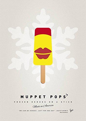 Imagekind Wall Art Print entitled My MUPPET ICE POP - Janice by Chungkong Art   7 x 10