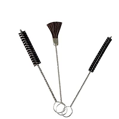 "3 Piece Pipe Cleaners Set - Including 1pc 5/8"""" Diameter Brush 1pc 3/8"""" Diameter Brush 1pc 1/2"""" Width Brush For Plumbing And Cleaning, Kitchen And Bathrooms -By Katzco"