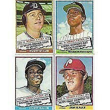 1976 Topps Traded Baseball Card Complete Set 44 Cards Nrmt