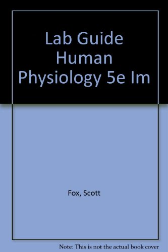 Lab Guide Human Physiology 5e Im