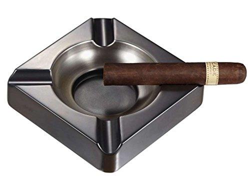 Visol Heavyweight Gunmetal Cigar Ashtray