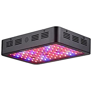 BESTVA 800W Double Chips LED Grow Light Full Spectrum Grow Lamp for Greenhouse Hydroponic Indoor Plants Veg and Flower