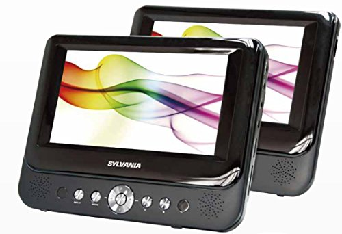 Sylvania SDVD9957 Portable DVD Player with Dual 9