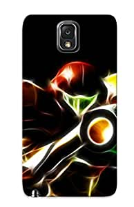 Crazinesswith Galaxy Note 3 Well-designed Hard Case Cover Samus Aran Metroid Protector For New Year's Gift
