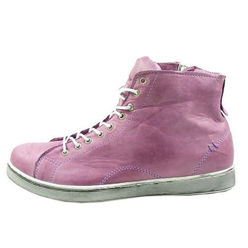 De 0341500 Andrea Conti Morado Cuero Mujer Zapatos Para qUSft