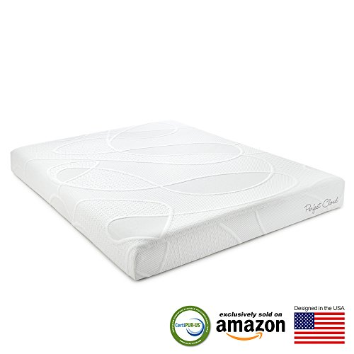 Supreme Memory Foam Mattress by Perfect Cloud (Full) - 8-inches Tall - Featuring New Air Flow Foam Technology for All-Night Comfort