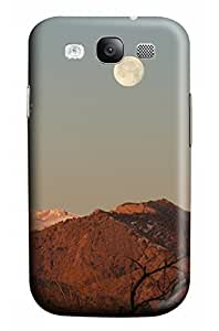 Cute The moon on the mountain top Designed PC Materical DIY Phone Case for Samsung s3/i9300