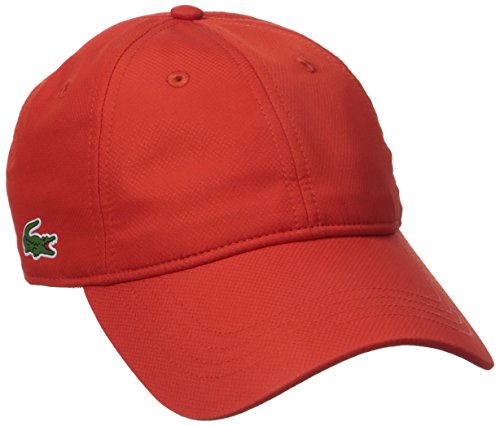 lacoste-mens-sport-taffeta-cap-etna-red-one-size