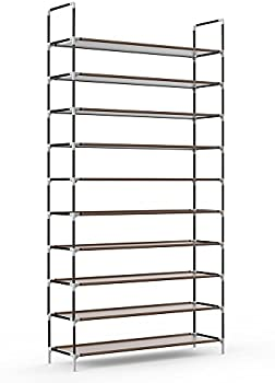 Sable 10 Tiers 50 Pairs Shoe Rack