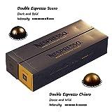Nespresso VertuoLine Double Espresso (2.7 ounce) Variety, Chiaro and Scuro, 20 Capsules