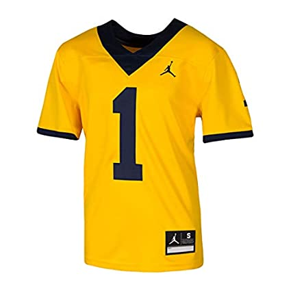 huge discount 4501e b1b7a Amazon.com : Nike Jordan University of Michigan Football ...