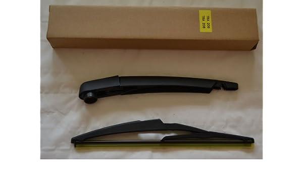 Escobilla limpiaparabrisas trasera y brazo para Citroen C3 Picasso 2010: Amazon.es: Coche y moto
