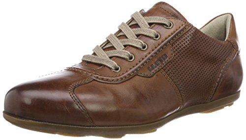 Lloyd Herrenschuh Bacchus, Folatre Hommes Sneaker En Cuir Avec Un Marron Semelle Caoutchouc (kenya 4)