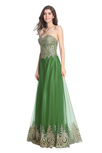 Donna Fanciest Verde Vestito Linea 44 Ad A Iq41Tq