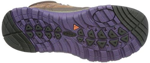 KEEN Womens Terradora Leather Mid WP-w Hiking Shoe Scotch/Mulch hAvyQl27R