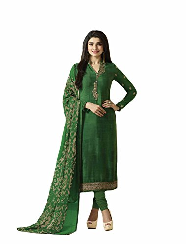 Ready Made New Designer Indian/Pakistani Fashion Salwar Kameez For Women (Green, MEDIUM-40)