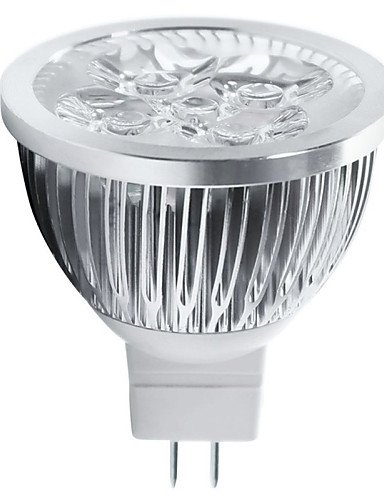 HJLHYL MNDFocos Decorativa HRY MR16 GU5.3 5 W 5 LED de Alta Potencia 550 LM Blanco C¨¢lido / Blanco Fresco DC 12 V 10 piezas, cool white-non-dimmable ...
