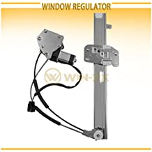 WIN-2X New 1pc Front Passenger Right Side Power Window Regulator With Motor Assembly Fit 97-01 Jeep Cherokee 4-Door