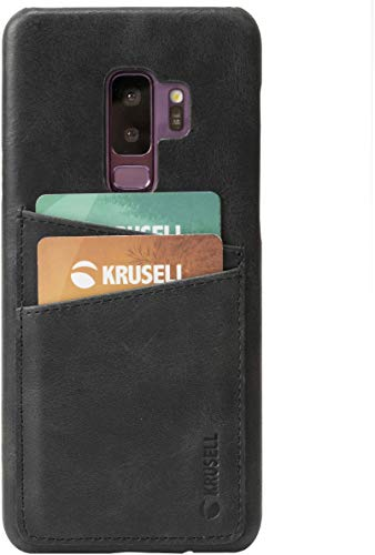 Krusell Wallet Case for Samsung Galaxy S9+ - Vintage Black