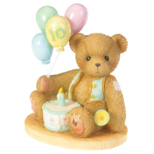 Cherished Teddies Age 10 Honk If You're Ten Through the Years Series 4020581 - NEW!