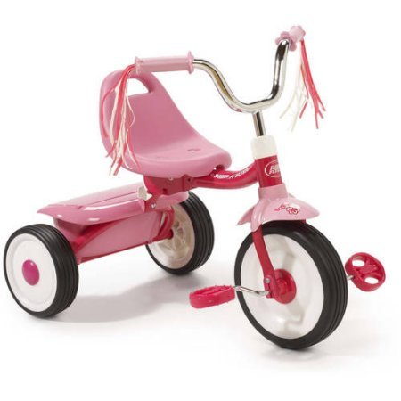 Radio Flyer Ready-To-Ride Folding Tricycle (Pink) by