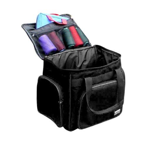 black serger accessory bag