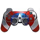 Cheap Popular Superhero Shield Print PS3 Dual Shock wireless controller Vinyl Decal Sticker Skin