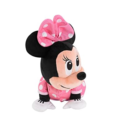 Fisher-Price Disney Baby Minnie Mouse Musical Touch 'n Crawl: Toys & Games