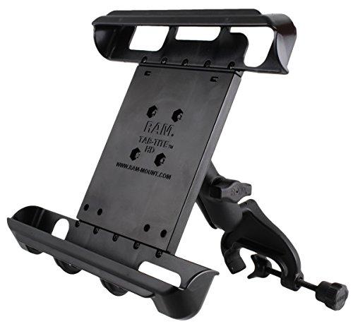 RAM Yoke Clamp Mount with Double Socket Arm & Tab-Tite Unive