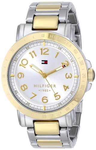 Tommy Hilfiger Women's 1781398 Two-Tone Stainless Steel Watch