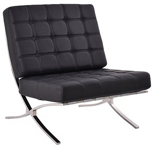 Giantex leather Pavilion Barcelona Chaise