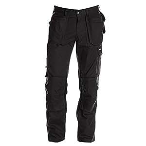 Jobman Service Pantalones hombre, negro, D92