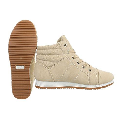 Altas Beige Design Ital Zapatillas Mujer wqXOAR