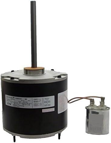 1//6 hp 825 RPM 48 Frame 208-230V 5 5//8 Diameter Condenser Fan Motor # EM3403
