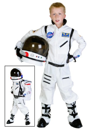 Child For Astronaut Costumes (Underwraps Astronaut Child 10-12 Costume,)