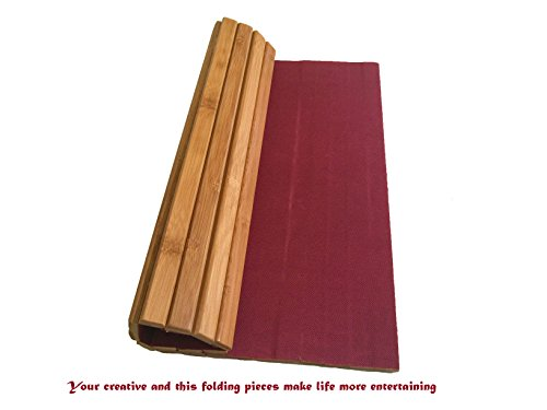 Bamboo Sofa Tray Laptop Mat IPhone Holder Food (Bamboo Wine Table)